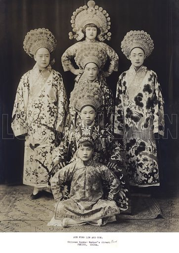 Traditional Chinese costume.