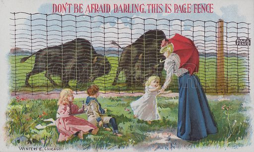 Advertisement for Page fencing.
