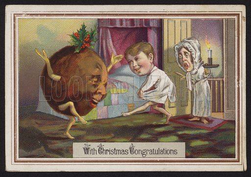 Dancing Christmas pudding
