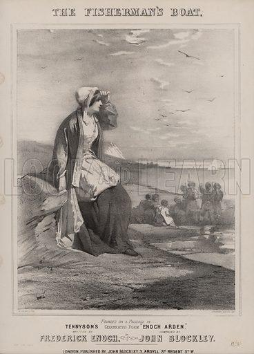 Tennyson's Enoch Arden.  Music cover. 19th century.