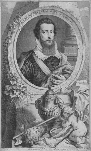 Robert Devereux, 2nd Earl of Essex (1565-1601), English soldier and favourite of Queen Elizabeth I.