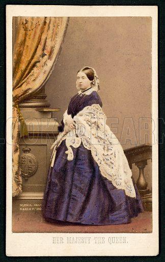 Queen Victoria, 1861.