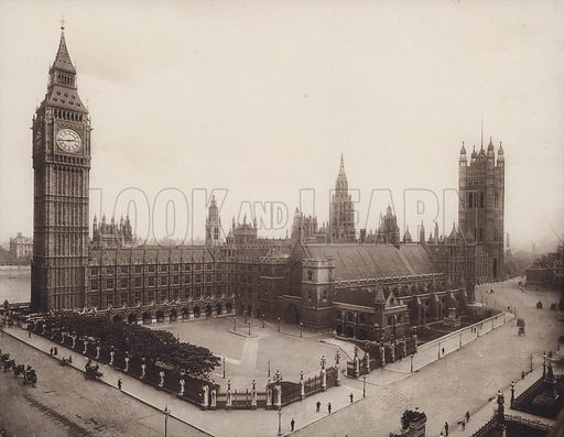 Palace of Westminster, London.