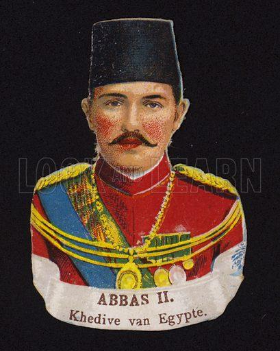 Abbas II (1874-1944), Khedive of Egypt.