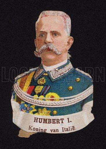 Umberto I (1844-1900), King of Italy.