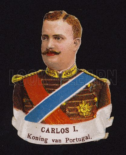 Carlos I (1863-1908), King of Portugal.