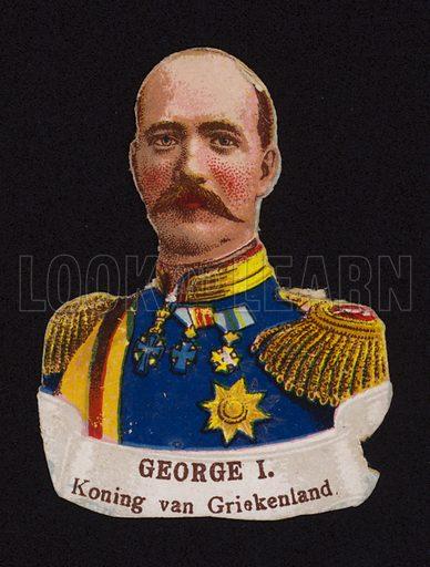 George I(1845–1913), King of Greece.