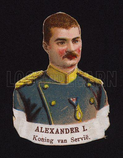 Alexander I (1876-1903), King of Serbia.