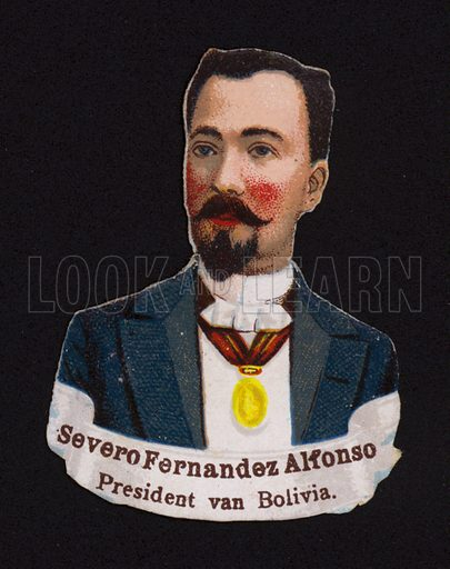 Severo Fernandez (1849-1925), President of Bolivia.