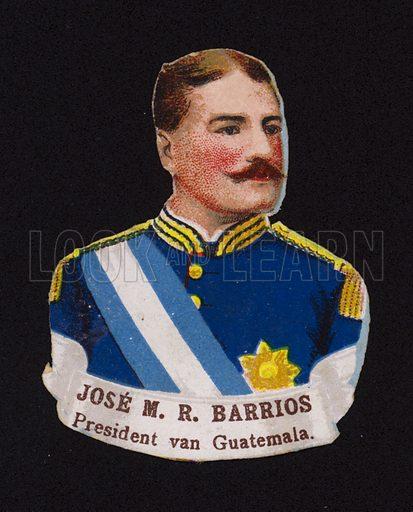 Jose Maria Reina Barrios (1854-1898), President of Guatemala.