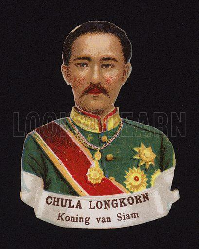 Chulalongkorn (1853-1910), King of Siam.