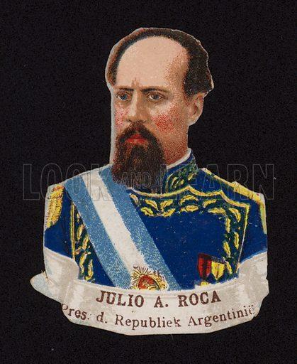 Julio Argentino Roca (1843-1914), President of Argentina.
