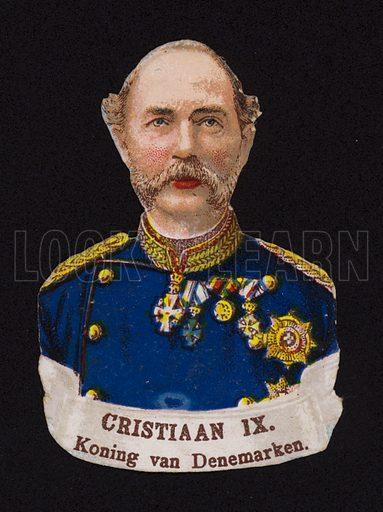 Christian IX (1818-1906), King of Denmark.