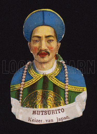 Emperor Meiji of Japan (1852-1912).