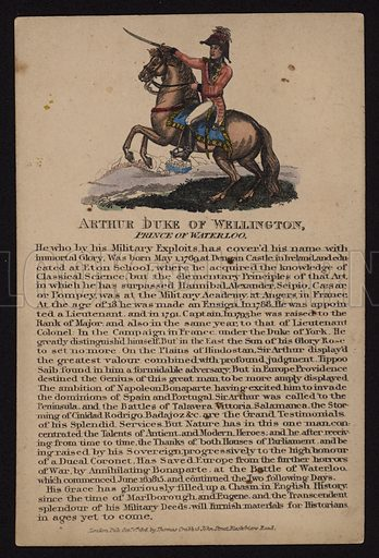 Arthur Wellesley, 1st Duke of Wellington (1769-1852), British soldier and politician, 1816.
