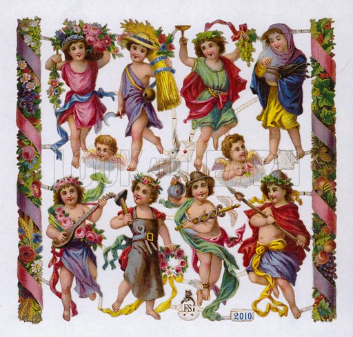 Greek or Roman gods and goddesses.