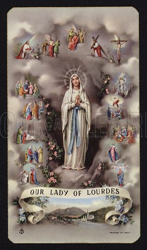 Our Lady of Lourdes.