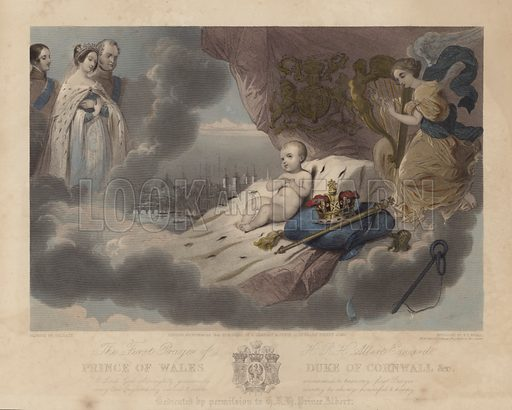 The First Prayer of the Prince of Wales, Prince Albert Edward, the future King Edward VII, 1842.
