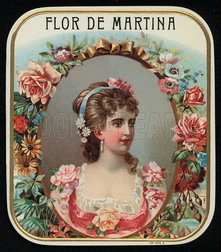 Flor de Martina, cigar label