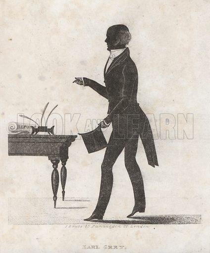 Earl Grey (1764–1845), English Whig statesman and Prime Minister.