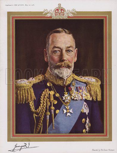King George V, 1935.