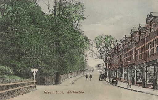 Green Lane, Northwood, London.