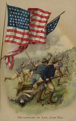 Memorial Day card.  Postcard, early 20th century.