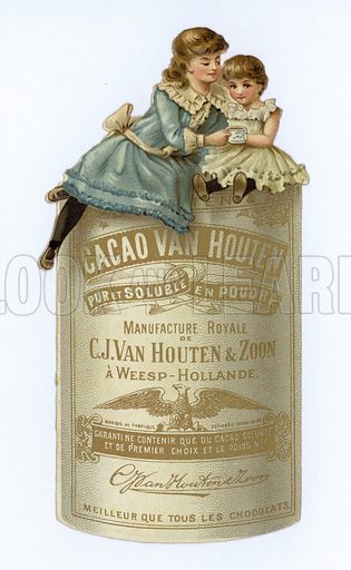 Advertisement for Cacoa Van Houten.