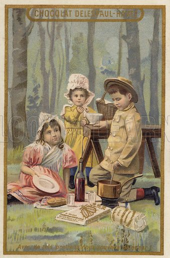 Children's picnic.