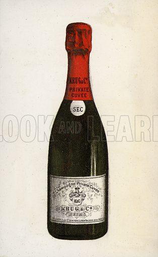 Krug champagne.