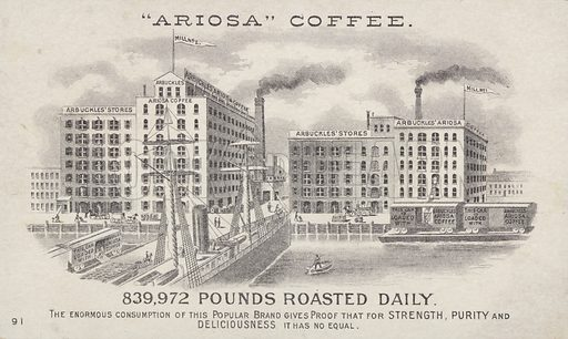 Ariosa Coffee factory.