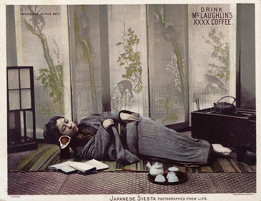 Japanese siesta.