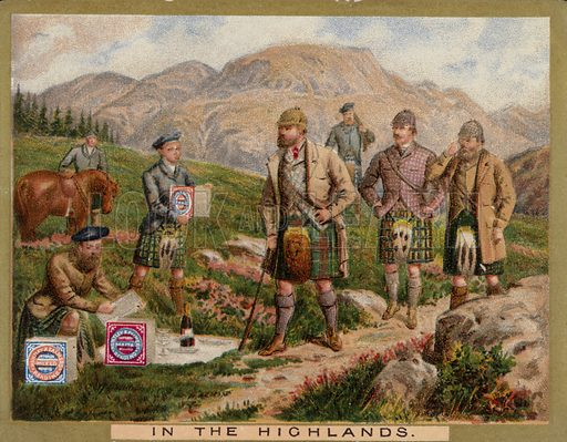 The Highlands, picture, image, illustration