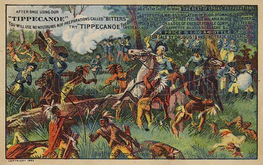 Battle of Tippecanoe.