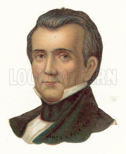 James Knox Polk.