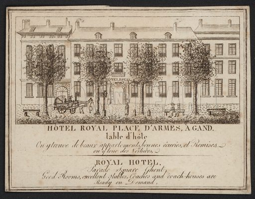 Hotel Royal, Place D'Armes, Gand