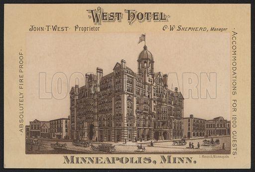 West Hotel, Minneapolis, Minnesota, USA