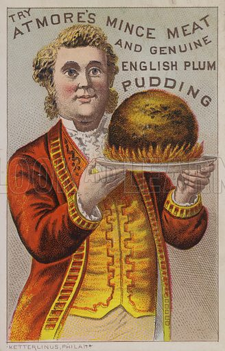 The Atmore's Mince Meat And Genuine English Plum Pudding
