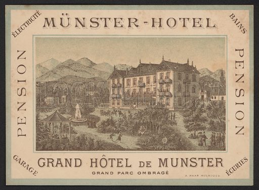 Hotel Trade Card.