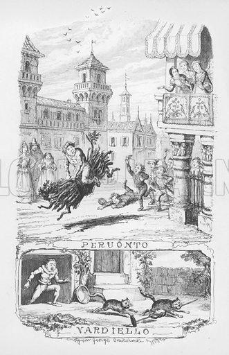 Illustration for The Pentamerone by George Cruikshank.