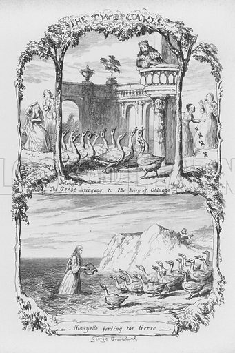 Illustration for The Pentamerone by George Cruikshank.