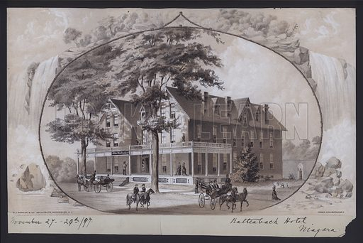 Hotel Kaltenbach, Niagara, New York, USA, c1897.