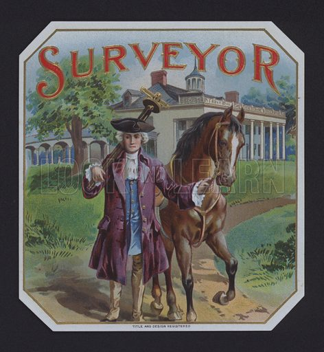 Surveyor, cigar label