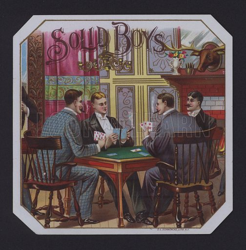 Solid Boys, cigar label