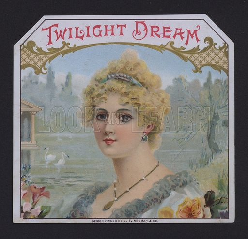 Twilight Dream, cigar label