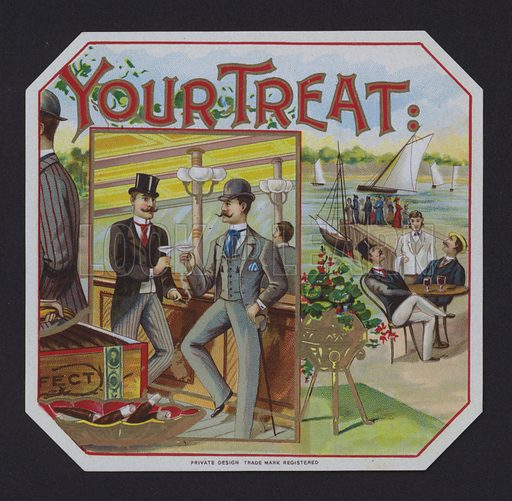 Your Treat, cigar label
