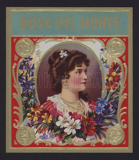 Rosa del Monte, cigar label