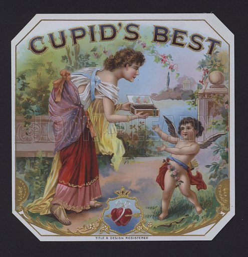 Cupid's Best, cigar label