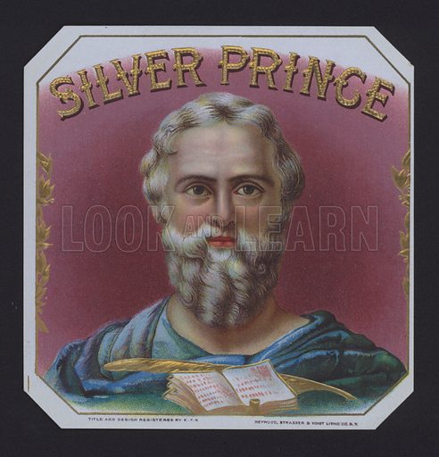 Silver Prince, cigar label