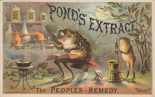 Advertisement for Pond's Extract